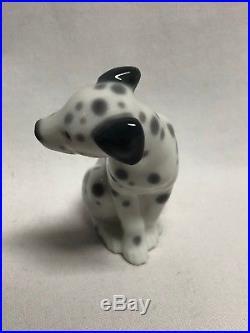 Lladro Seated Dalmatian Dog Figurine #1260 3 1/8 Mint no Box