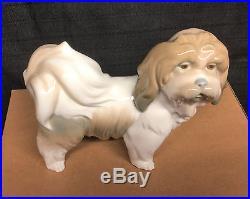 Lladro Standing Pekingnese Dog Figurine 6