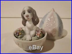 Lladro Surprise Egg RARE Set of 3 Fawn Deer, Puppy Dog, Kitten Cat HTF