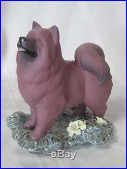 Lladro The Dog Brand Nib #9118 Dog Samoyed Red Zodiac Limited Edition Save$ F/sh