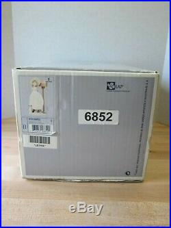 Lladro Waiting For Your Letter 6852 Girl with Puppy Dog Mint in Box