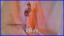 Lladro Walk With the Dog by Jose Roig 2005 Retired #4893