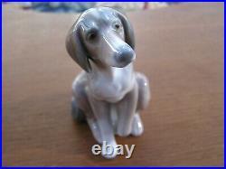 Lladro Wolfhound Dog Daisa 1985 Retired Made in Spain