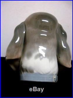 Lladro figurine 1149 DOG'S HEAD BUST 6 Early lladro 1971