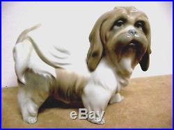 Lladro figurine 4642 DOG an early Lladro 1969 5.5 Adorable