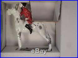 Lladro girl riding a dog 01008523 GIDDY UP DOGGY 8523 in original Box