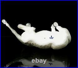 Lladro -large Donkey- Christmas Nativity Scene Figure Model 1389 E-22 Horse Pony