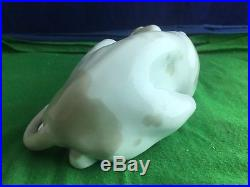 Lovely Lladro''Large Dog Hound'' Porcelain Figurine Made In Spain USC RD8667