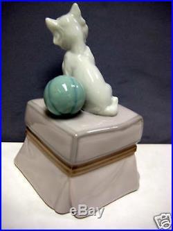 My Favorite Companion Westie Puppy Dog By Lladro Porcelain #6985