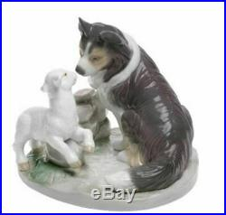 NAO by Lladro Retired Porcelain Figure 02001638 COUNTRYSIDE COMPANIONS 1638 Dog