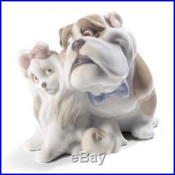 Nao By Lladro #1731 Will You Be Mine Bnib Dog Love Romance Free Shipping