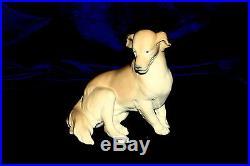 New Lladro Golden Retriever #8345 Brand New In Box Dog Yellow Nice Save$$ F/sh