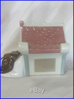 New Nao By Lladro Sweet Home Brand New In Box #1748 Puppy Love Dog House F/sh