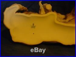 RARE LLADRO GERMAN SHEPHERD DOG WithPUPPIES -#6454 WITH BOX