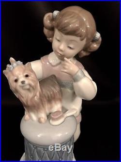 RARELladro My Pretty Puppy Child/Dog (6635 Mint in Box) FREE Fast Shipping