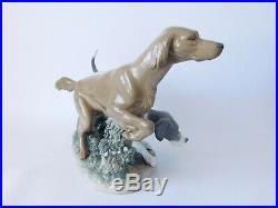 Rare Lladro Attentive Dogs 4957 Hunting Dogs Free Uk Postage