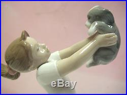The Best Of Friends Girl With Dog By Lladro #8032