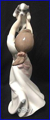 The Best of Friends Lladro Girl with Dog #8032