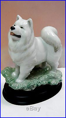 The Dog Animal On Stand Figurine By Lladro #8143