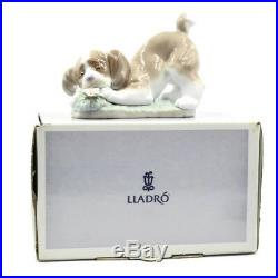 VINTAGE 1990 LLADRO A Sweet Smell Puppy Dog FIGURINE IN BOX. 06832. SPAIN