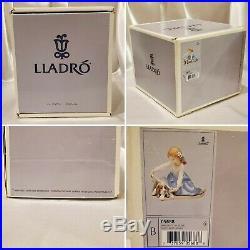 Vintage 1989 Lladro Dog's Best Friends Figurine #B 05688 Boxed