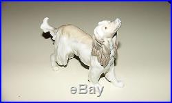 Vintage LLADRO AFGHAN HOUND DOG FIGRINE #1282 Retired