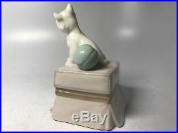 Vintage Lladro Porcelain Figurine 6985 My Favorite Companion Westie Puppy Dog