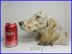 Vintage Lladro Setter Dog's Head