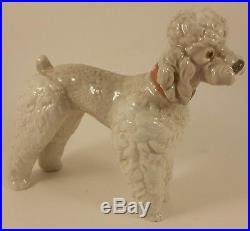 Vintage Lladro Woolly Dog Poodle #1259 withBox