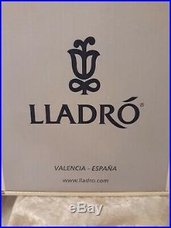 Vtg Lladro 6862 An Elegant Touch Girl Dog WithBox Figurine Te Pongo Guapo MIB