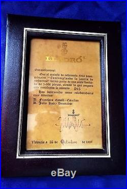 Vtg Rare 1985 Lladro Pack of Hunting Dogs 5342 Ltd Ed 645/3000 RARE SIGNED NIB