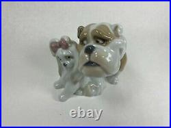 Will You Be Mine Male And Female Dogs Figurine Nao By Lladro #1731